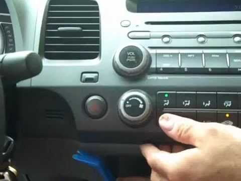 http://www.strictlyforeign.biz/default.asp Honda Civic Car Stereo Removal and Repair 2006 2011