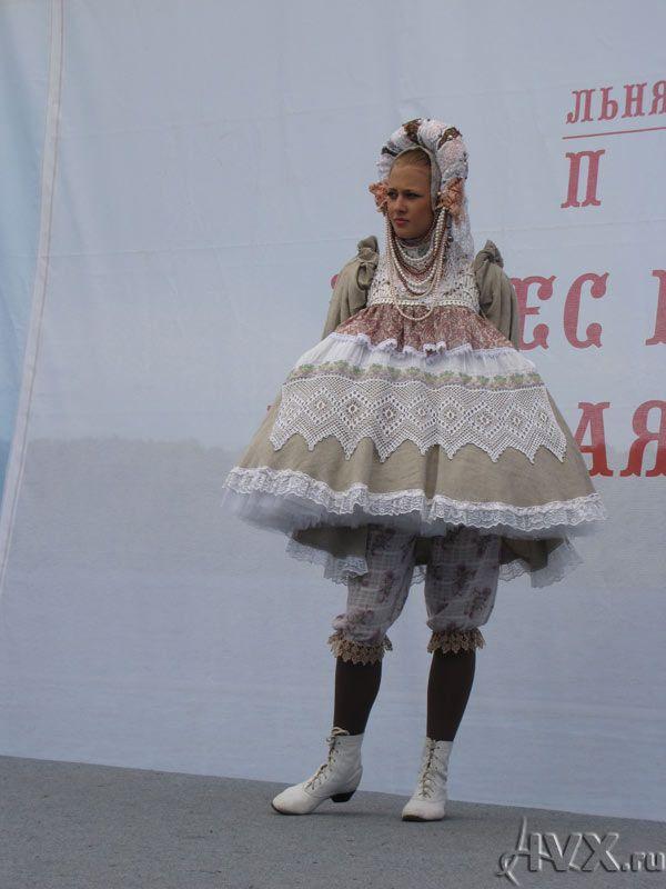 "Российский фестиваль моды ""Плёс на Волге. Льняная палитра""-Russian Fashion Festival ""Ples on the Volga. Flax Palette"""