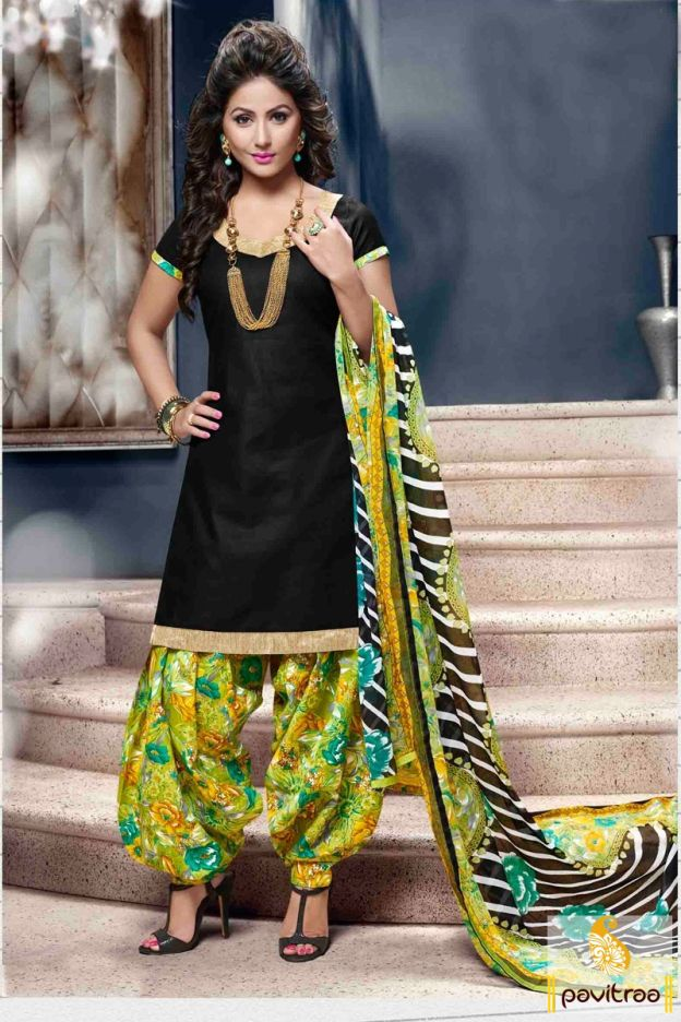 Showcase your charm with beauty in this Hina Khan special black punjabi patiala salwar suit online shopping at cheap price. Purchase it Now! #salwarkameez, #cottonsalwarkameez, #casualsalwarlameez, #printedsalwarkameez, #patialasalwarkameez, #churidarsalwarkameez, #discountoffer, #pavitraafashion, #utsavfashion http://www.pavitraa.in/store/patiala-salwar-suit/ callus:+91-7698234040