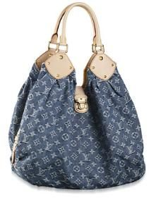 Louis Vuitton Denim Bag  #jeansdujour #additionelle  Love this Jeans board by Addition Elle