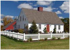 17 best ideas about new england style homes on pinterest for Country farm simples
