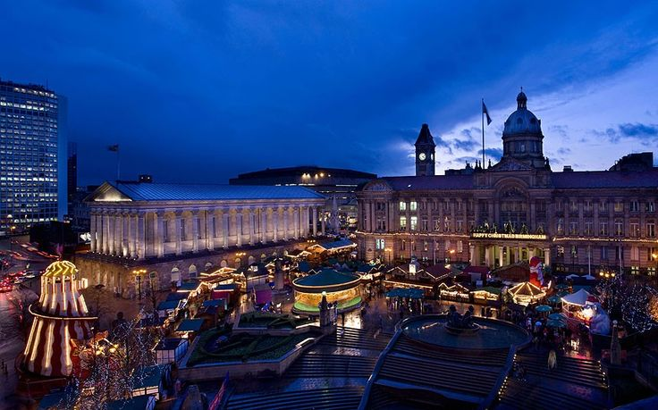 Birmingham Frankfurt Christmas Market & Craft Fair When: ends December 22 The largest authentic German market held outside Germany and Austr...