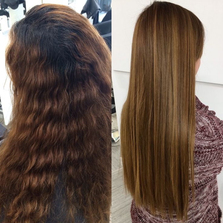 Transformed Our Clients Hair With A Root Touch Up Full Head Of Balayage Toner And Smoothing Treatment