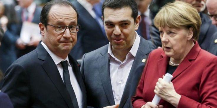 Hollande et Merkel donnent une dernière chance à Eros, le dieu grec de l'amour #hollande #amour #dette #grece #discours #dieu