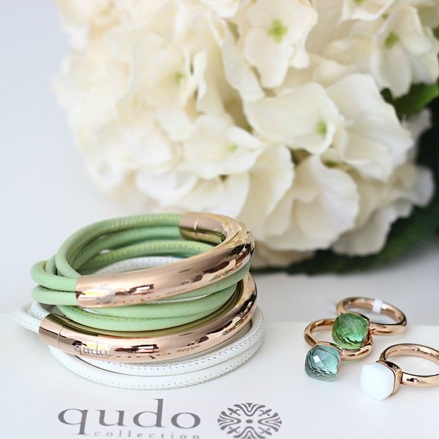 Weekend beauties  #qudo #qudocollection #bracelet #accessories #ring #armparty #armcandy #weekend #flower