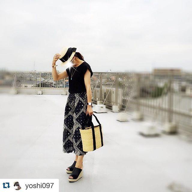 @yoshi097 ・・・昨日は、バンダナ柄のスカーチョが主役トップス → @donobanweb  #donobanスカーチョ → @donobanweb サンダル → #shoplist #reedit バッグ → #muunハット → @donobanweb**ブログ更新してます**#ドノジョ#locari #ママファッション#アラフォー#アラフォーコーデ#プチプラlove #kaumo_fashion #ponte_fashion #snapgram_jp  #ママ雑誌sakura#hotmamatown #アンドガール#ママスタ春コーデ #スナップミー #lin_stagrammer #mamagirl #kurashiru #ビュースタグラマー#ootd_kob#fashionaddiction_from_casual#極女子 #極zyoshi#プチプララバーズ