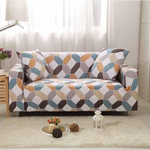 Patterned Sofa Cover In 2020 Couch Covers Sofa Covers Arm