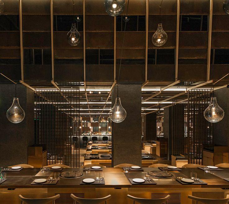 NeriHu Designs Dramatic Light Filled Atrium For Shanghai Restaurant