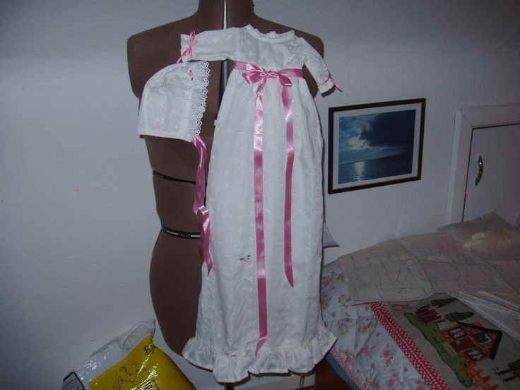 dukke dåbskjole