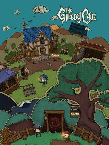 The Greedy Cave Games Adventure iPad App ***** $0.99 -> FREE...: The Greedy Cave Games Adventure iPad App *****… #ipad #Games #Adventure