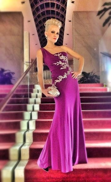 Fabulous Aftershock London gown at the OTO awards