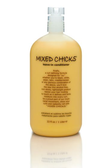 salon professional mixed hair product for taming frizz and styling curly hair - Mixed Chicks | A Curly Revolution