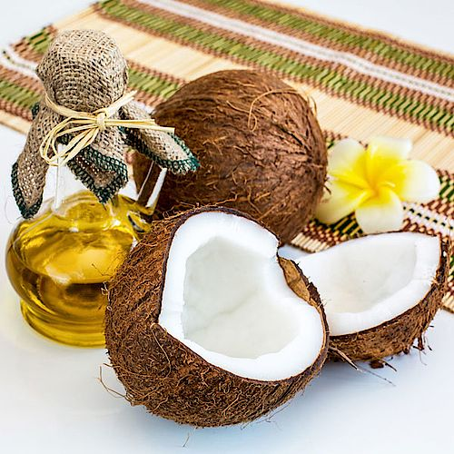 Kokosöl Haarkur für trockenes Haar