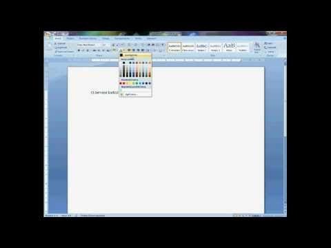 MicrosoftOffice Word 2007 - CZ tutoriál 1. ... základní funkce - YouTube
