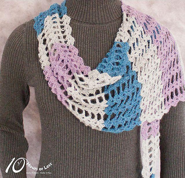 1302 besten Crochet Shawls Bilder auf Pinterest | Ponchos, Kleidung ...