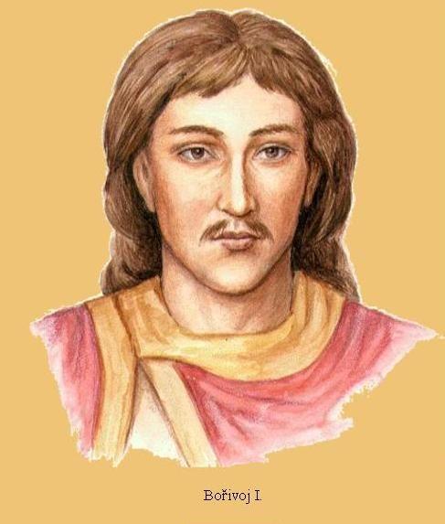 Bořivoj I, Duke of Bohemia (kníže Bořivoj, c. 852-855) - the first historically documented Duke of Bohemia from about 870 and progenitor of the Přemyslid dynasty. #Czechia