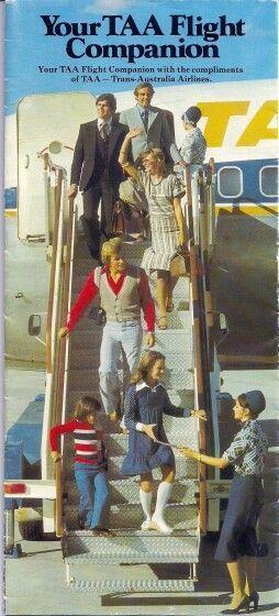 Trans Australia Airlines Flight Companion