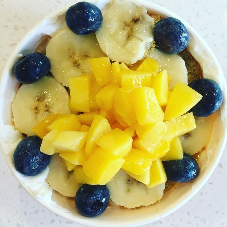 Starting my Saturday in a joyous way!  Meet the WARRIOR'S PATH with Organic Yogurt - Topped with Organic Mango Organic Banana Organic Blueberry and Organic Flax Seed. With every purchase a meal is donated to a child in need! #yum #nomnom #instafood #joy #eatlocal #eathealthy #breakfast #yogurtbowl #organic #austin360eats #spreadjoy