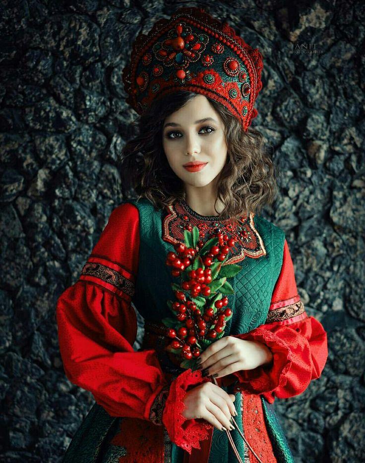 Русско народные красавицы картинки