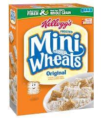 Kellogg's Frosted Mini-Wheats check out these