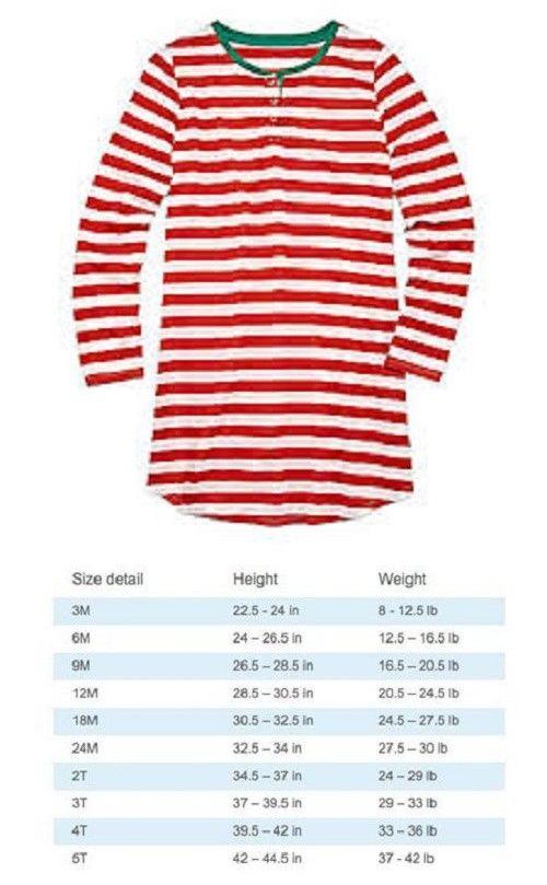 d86d94afc466 Sleepwear 147215  North Pole Sleepwear Pj S Nightshirt Red White ...