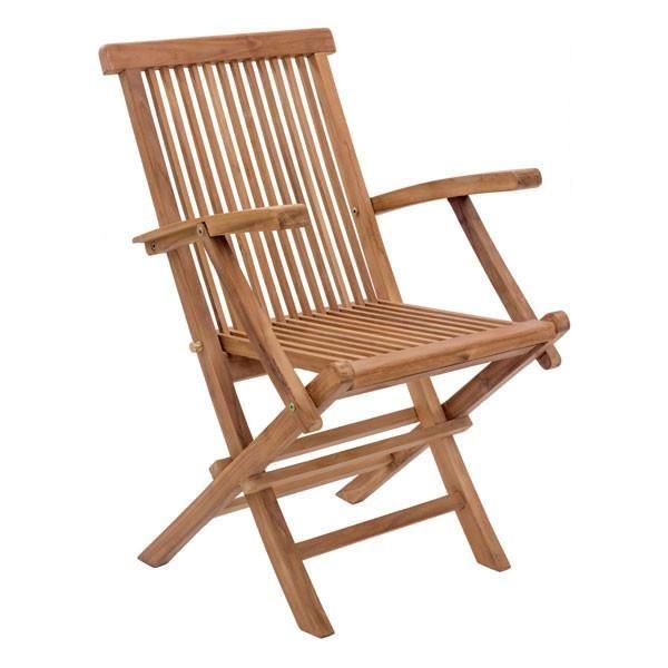 Columbus Day Sale Outdoor Folding Chair Elegant Teak Outdoor Furniture