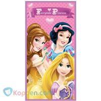 Badlaken Princess fairytale: 70x140 cm -  Koppen.com