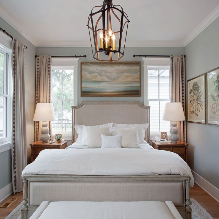 Inspired home at habersham master bedroom southern living