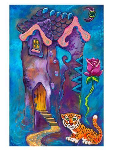 Firmado Por Jason Becker + Gary Becker impresión de arte el amor es un sueño Rose (16x12 En.)