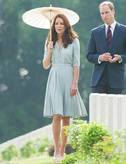 Kate Middleton's Best Dressed Looks   ELLE UK Custom Jenny Packham dress