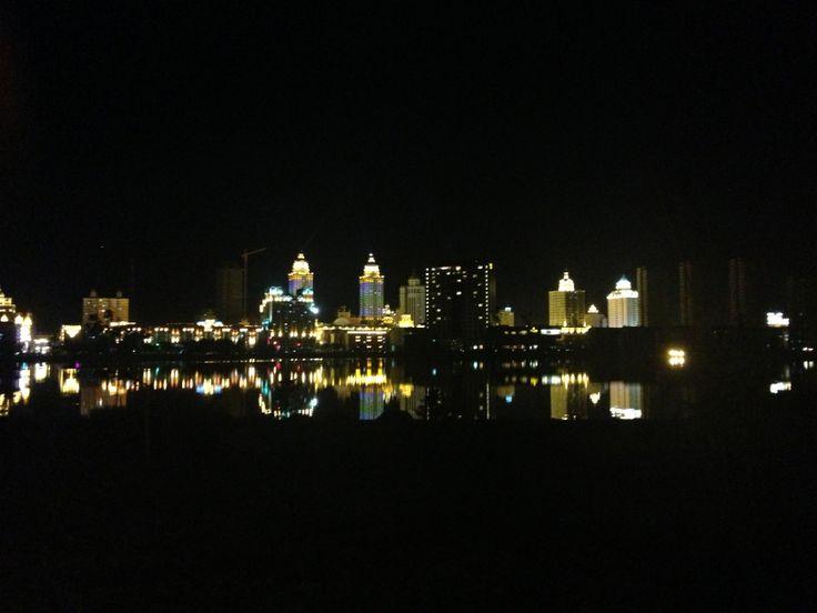 Manzhouli, China - by night   满洲里, 中国