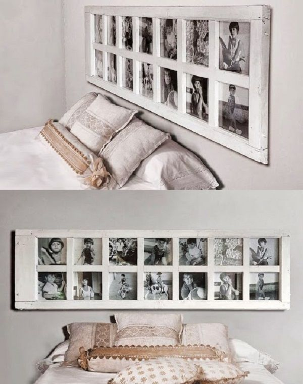 Las 25 mejores ideas sobre marcos de fotos en pinterest decoraci n de paredes de marco ideas - Decoracion pared cama ...