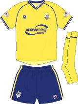 Preston North End away kit for 2002-03.