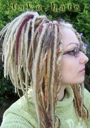 how to get fake dreads for guys