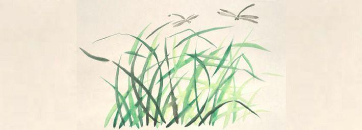 Как рисовать листочки и травинки легко, мастерски, одним росчерком кисти? Технология рисования проста, достаточно отработать 5 упражнений!