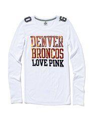 Denver Broncos Love Pink