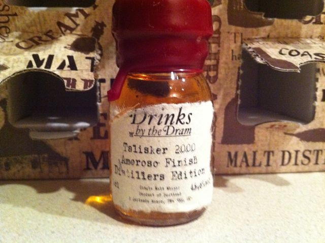 Day 16 - Talisker 2000 Amoroso Finish Distillers Edition