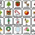 *20 2x2 Christmas themed labeled picture cards.Print out one page, cut out and laminate for flashcards and vocabulary building. Print out two pages...