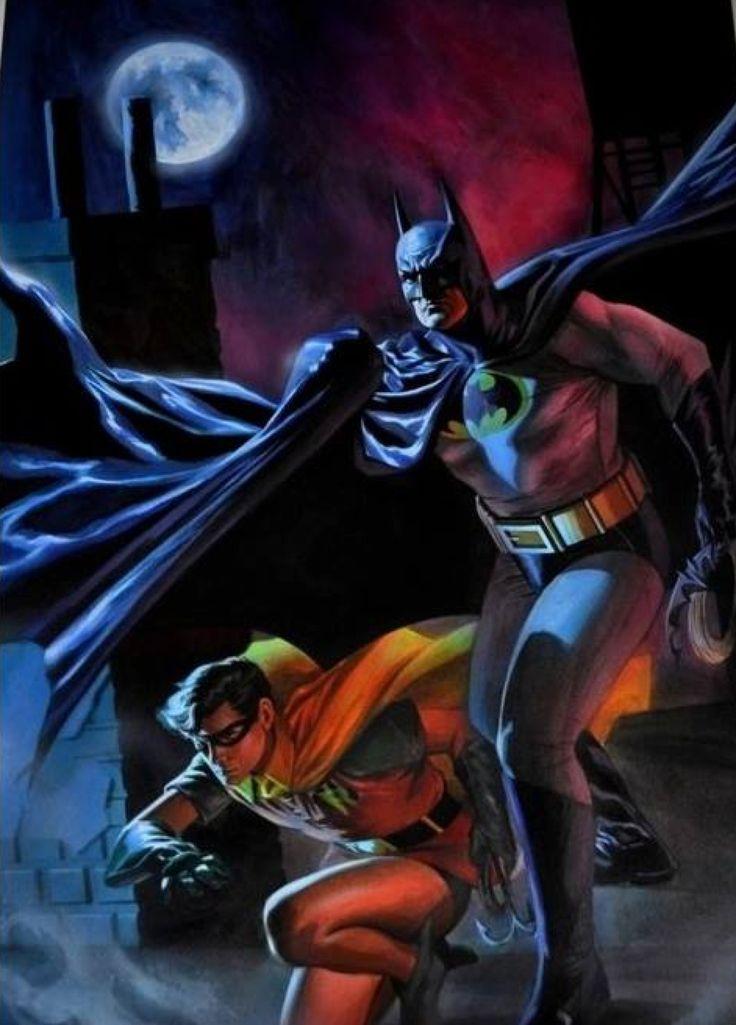 Batman and Robin by Felipe Massafera