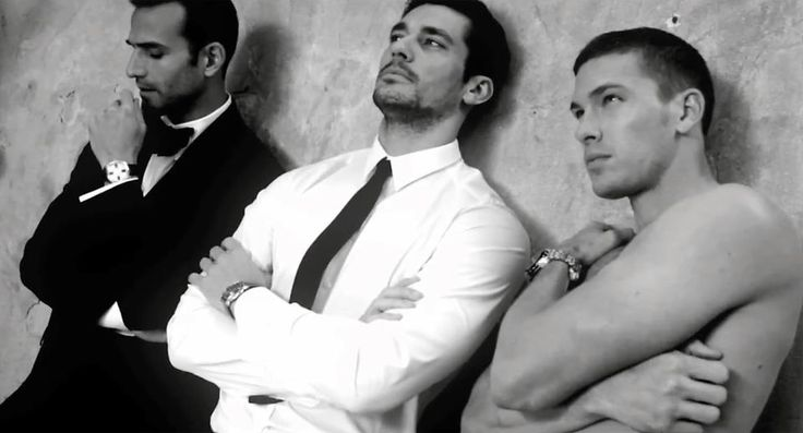 Dolce and Gabbana features their hottest male models: Enrique Palacios, David Gandy and Adam Senn. Ph: Mariano Vivanco