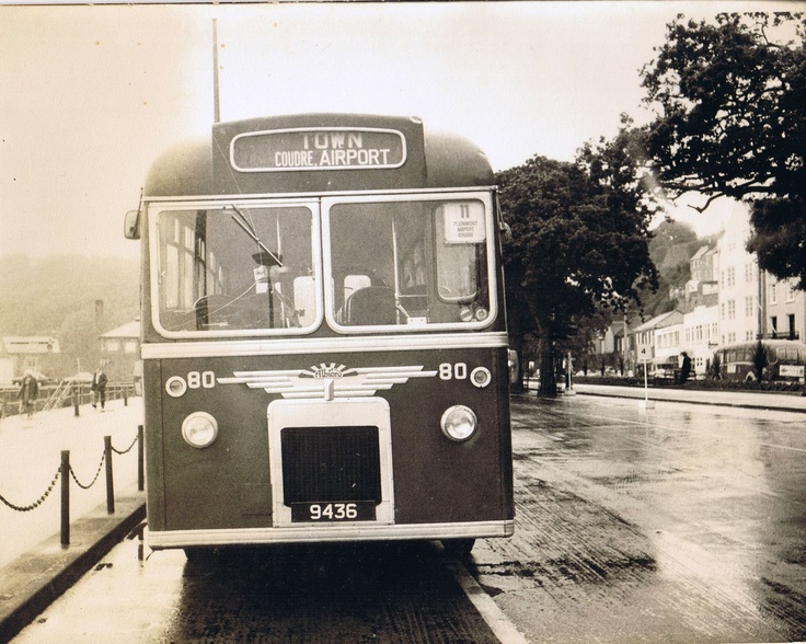 56 Best Buses Images On Pinterest: Old Guernsey Bus Late 1970's