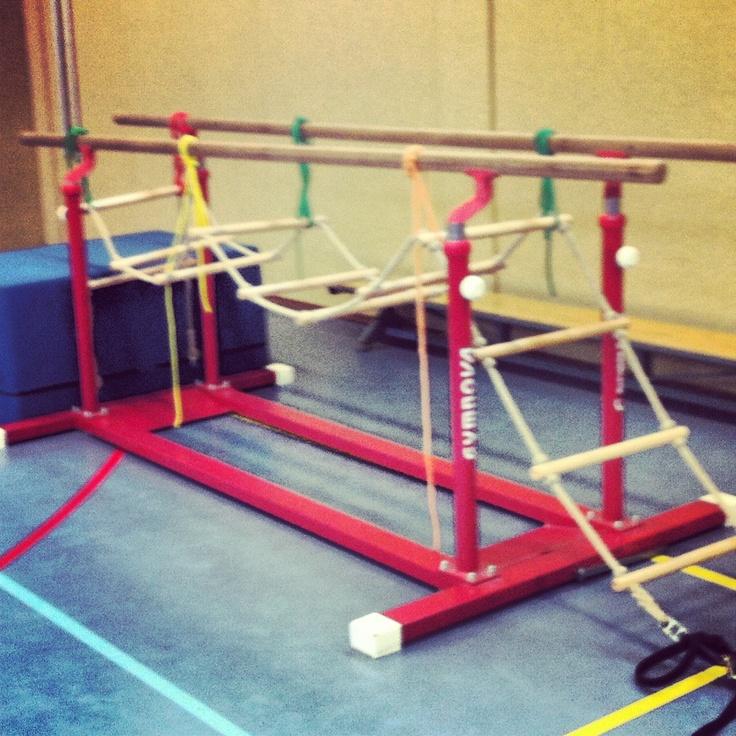 Survival brug, Ideeën gymles kleutergym - Peutergym of ouder en kindgym @saturna-alkmaar