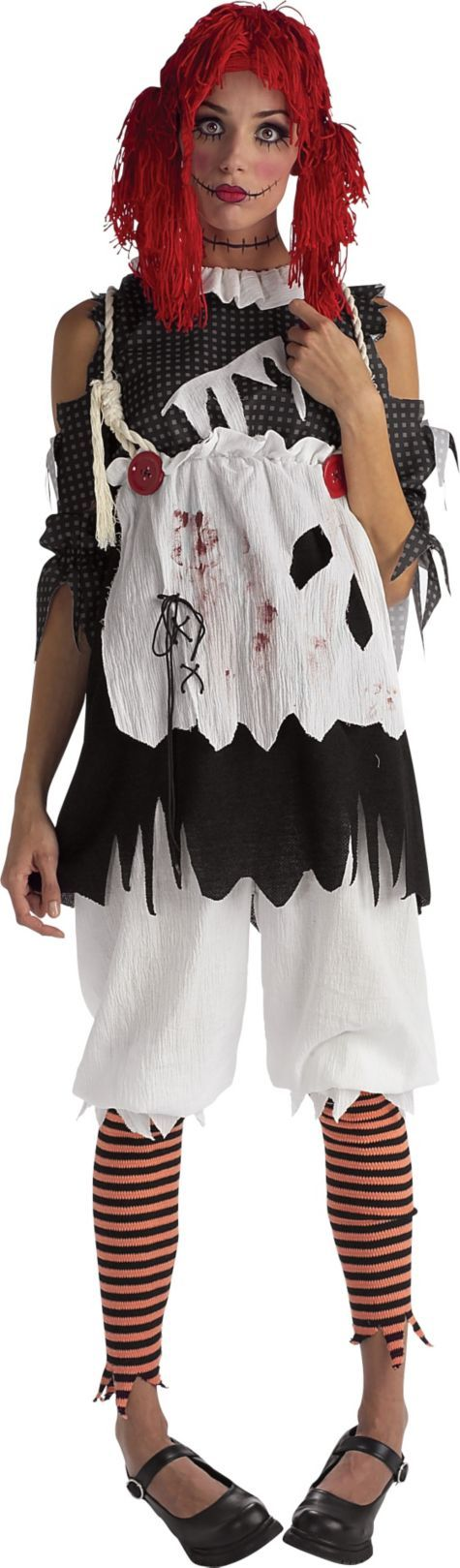 Scary Rag Doll Costume for Women - Party City