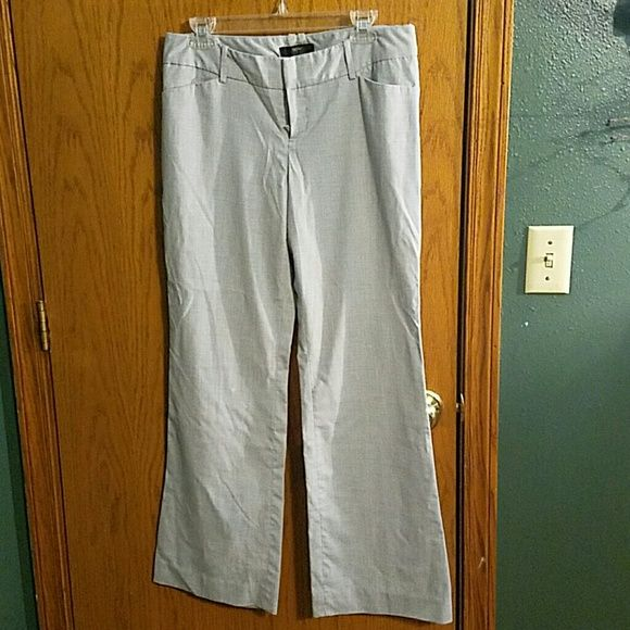 Grey dress pants Grey Massimo stretch dress pants size 10 Mossimo Supply Co Pants Trousers