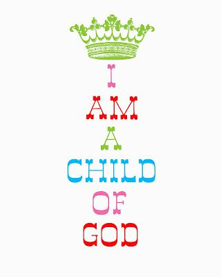 From Sofia's Primary Ideas: Primary Theme 2012: I Am A Child of God Song Helps  Ideas