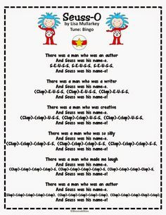 dr seuss songs preschool 17 best images about dr seuss on activities 599