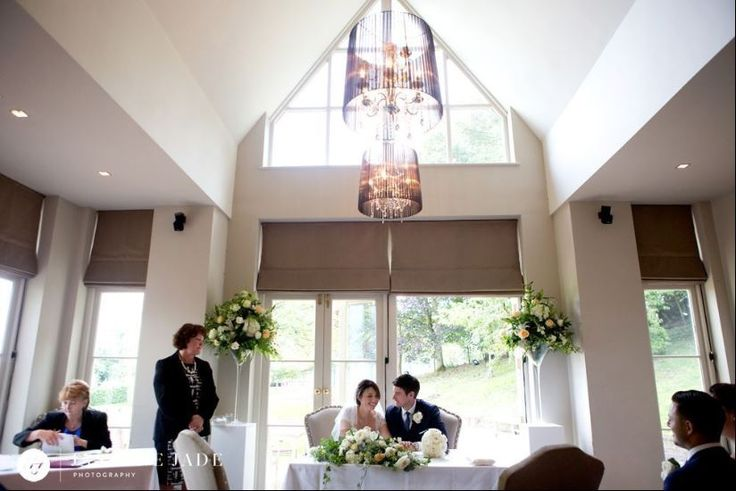 The Garden room at the #MaisonTalbooth, lovely and bright which makes it perfect for a #summerwedding