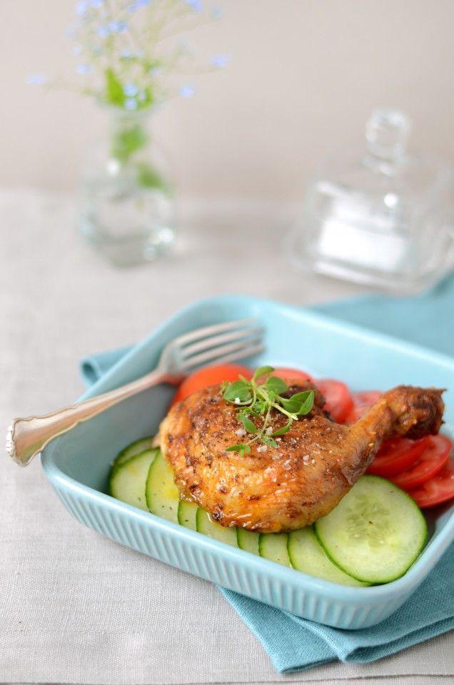 Kycklingklubba med grönsaker 282 kcal