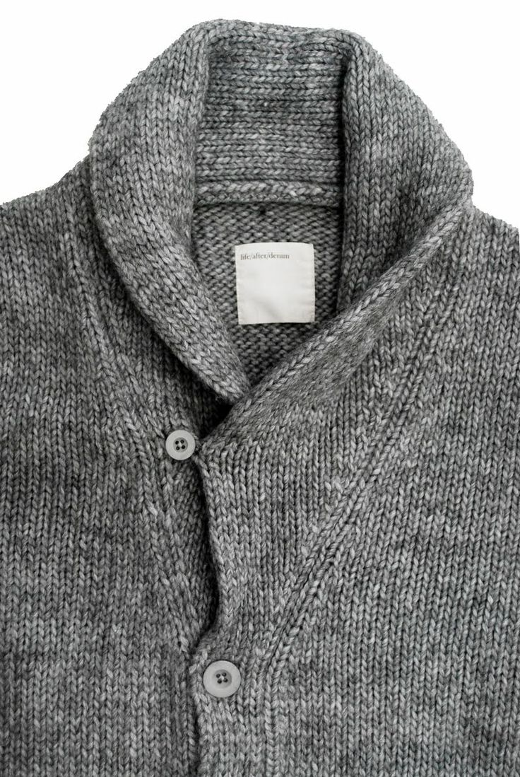 my absolute favorite winter casual look...High-shawl collar sweater