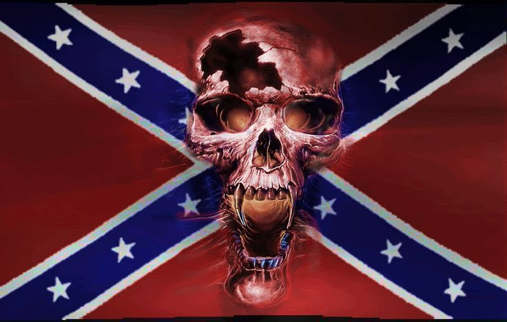 Cool Rebel Flag Backgrounds | rebel flag with skull picture by dragonking510 - Photobucket